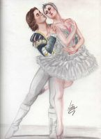 Odette and the Prince- Swan Lake by Allie06
