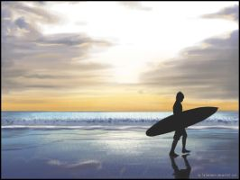 Surfer - for contest no. 3 by farbenleere