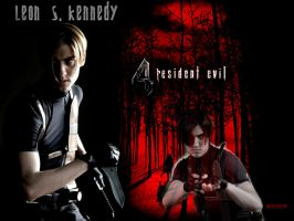 Leon Scott Kennedy by IvanKing