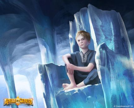 Spells of Genesis - Prince of Ice by YihyoungLi
