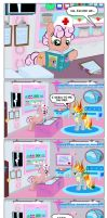 Ponyville Hospital Comic by PixelKitties
