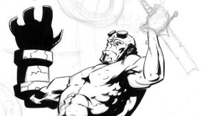 hellboy WIP by BrentMcKee