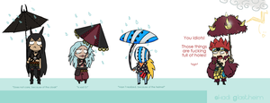 Extremely ineficient umbrellas by Skadi-Skadi-No-Mi