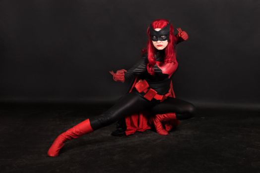 Batwoman cosplay, PANICOMIX 2017 by Shiera13
