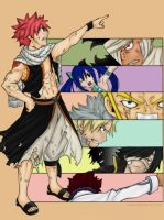 7 Dragon Slayers by Lonewolf2592