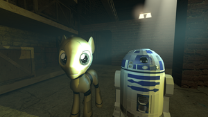 [DL] D3PO pony version by Stefano96