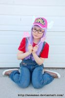Arale cosplay 02 by MissAnsa