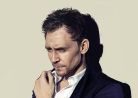Tom Hiddleston + speedpaint by Abilhan