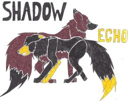 Echo and Shadow tribal by shiro-chan63