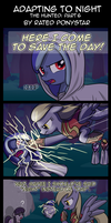 Adapting to Night: The Hunted Part 6 by Rated-R-PonyStar
