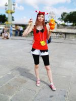 Omega Ruby Alpha Sapphire May Cosplay by Shourei
