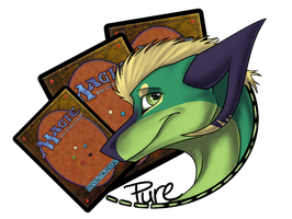 New Profile Badge! - Mitzy and Magic Cards by Pure-Dragon97