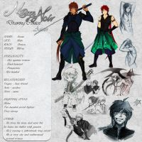 Assan - Character Card by Noire-Ighaan