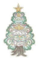 Yuletide Blessings  by Spiralpathdesigns