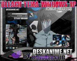 Ichigo Mugetsu Theme Windows XP by Danrockster
