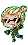 Cassie Cage by Pizza-Power