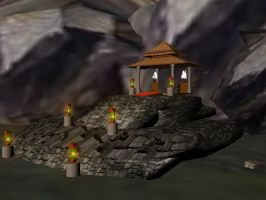 Temple Enviroment by WoundedCoast
