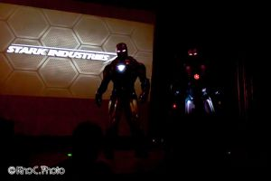 It's not a movie Ironman and Warmachine by Alexwazz