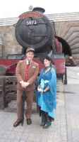 riding the Hogwarts Express by Arachnoid