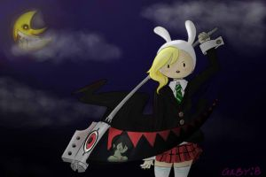 Soul Eater and Adventure Time by gochis