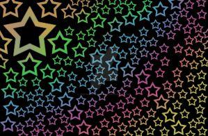 Rainbow Stars by ThatChickWithDaPony