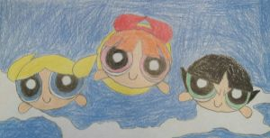 Blossom, Bubbles, and Buttercup were Born! by PPGandJessie