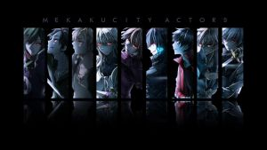 Mekakucity Actors Wallpaper by CeroSigs