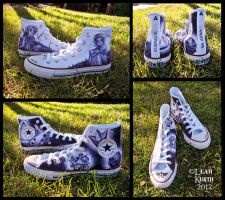Zelda Converse OoT by lcksophie