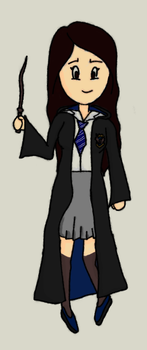 Sketch - Ravenclaw Girl by leticiavicentinib