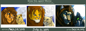 The Before and After Meme of LEGITNESS by TheGreatHushpuppy