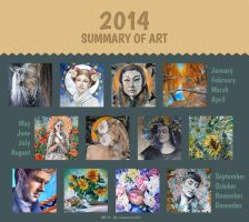 2014 Summary Of Art by DariaGALLERY
