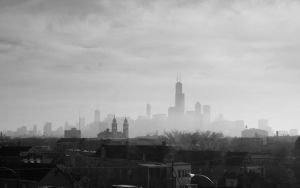 Hazy Chicago by DanielJButler