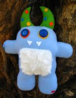 Stevie the Monster Plush by P-isfor-Plushes