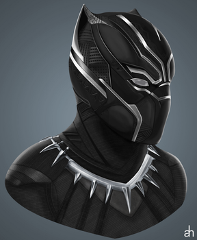 Black Panther by asemharun