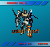 Resident Evil 5 Dock Icon by Dohc-WP