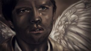 Castiel - Supernatural by eerilyfair