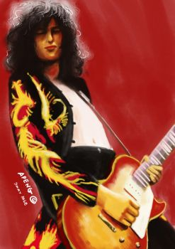 Jimmy Page by apengmara