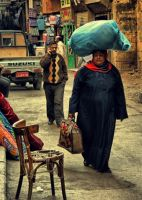 Busy Day At Market by Nour-K