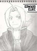 FMA: Edward Elric by sybersweetheart