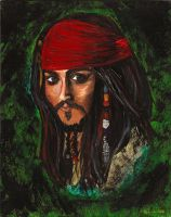 Captain Jack Sparrow by dunklekatze
