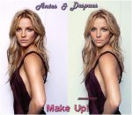 Make Up Britney Spears by myfavoritedesing