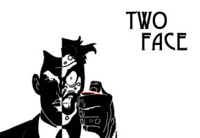 11 Two Face Poster by El-Fox