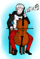 Cello (Finished) by ArtisticTsuki