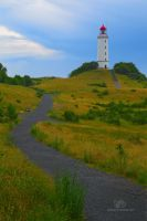 Hiddensee lighthouse II by Lykorias