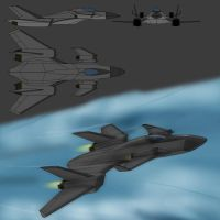 Fighter concept by Darkheart1987