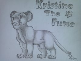 Kristine, The Puma by ZeroHunter112