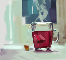 Cup of tea by ales-kotnik