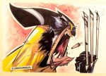 Barking Wolverine by CreatureBox
