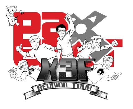 X3F PAX East Reunion Tour 2011 by Tophoid