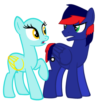 Blue Fire with any other oc by amazingphan24